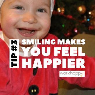 Sourire pour être heureux, ca marche aussi